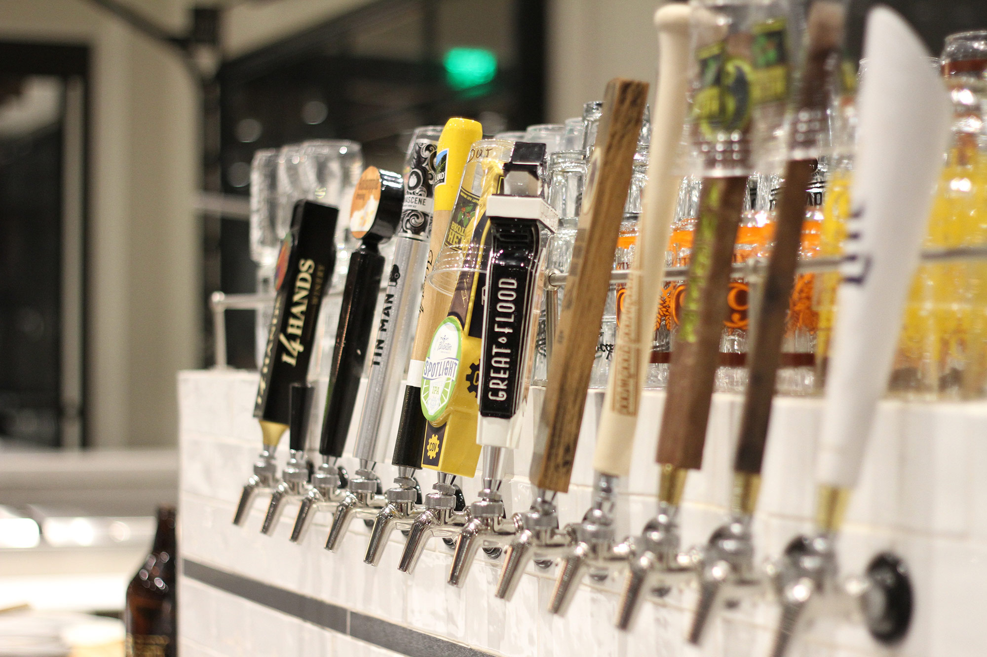 Fall City Market Slider Image - beer taps