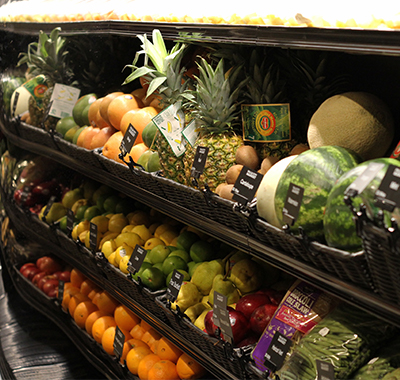 A Produce and Grocery Market